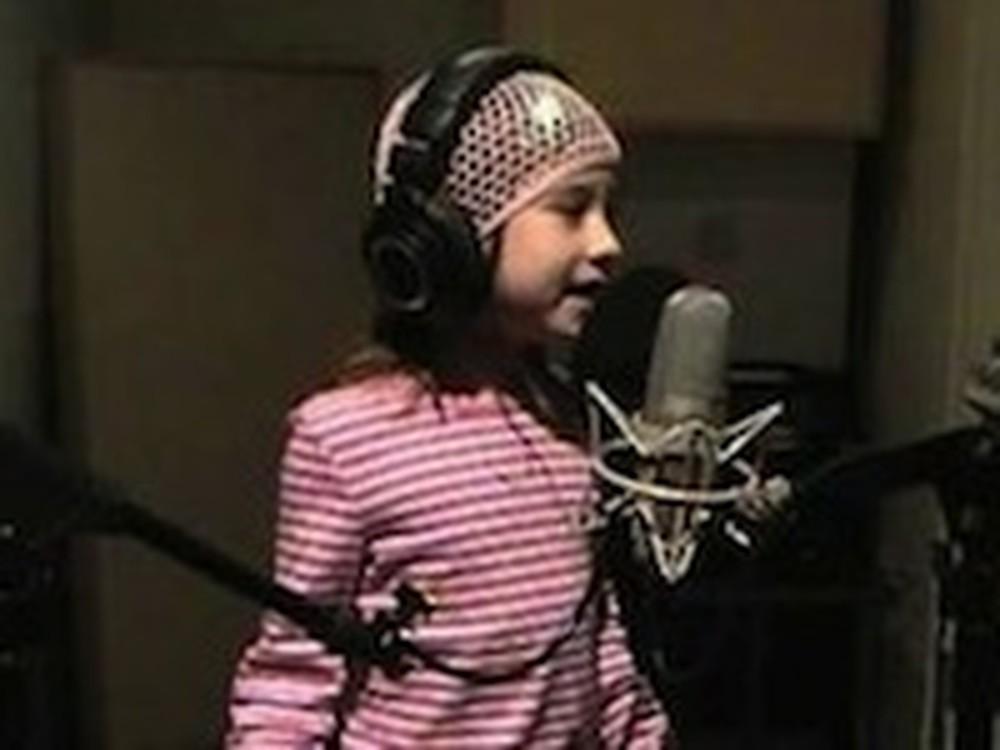 Rhema Marvanne is Back Singing Silent Night