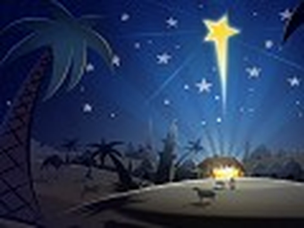 Beautiful Depiction of the Night Jesus Was Born