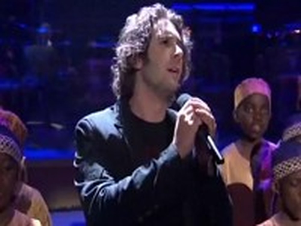 Josh Groban Sings You Raise Me Up with the African Children Choir