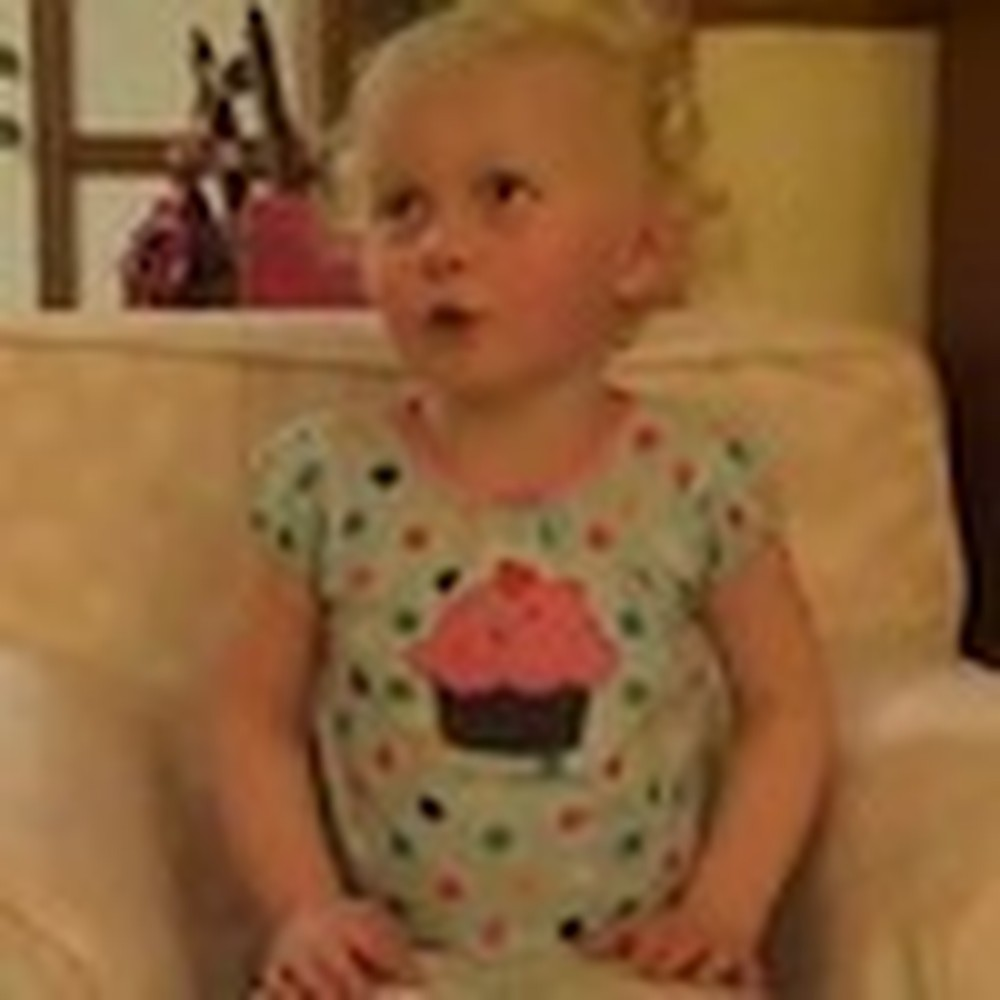 Adorable Little Girl Recites the 23rd Psalm