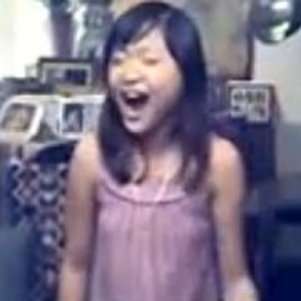 Young Girl Hits High Notes Like You Won't Believe