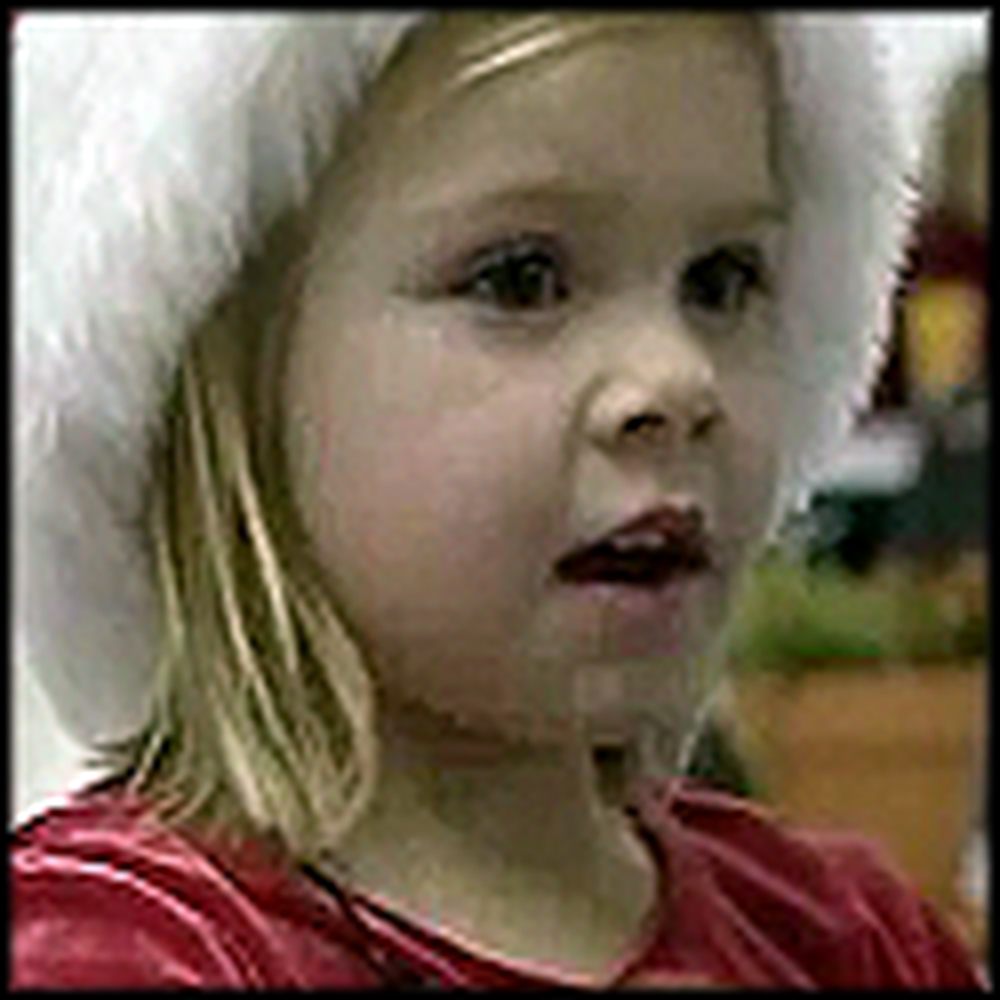 Little Girl Gets Her Wish - Daddy Coming Home From War