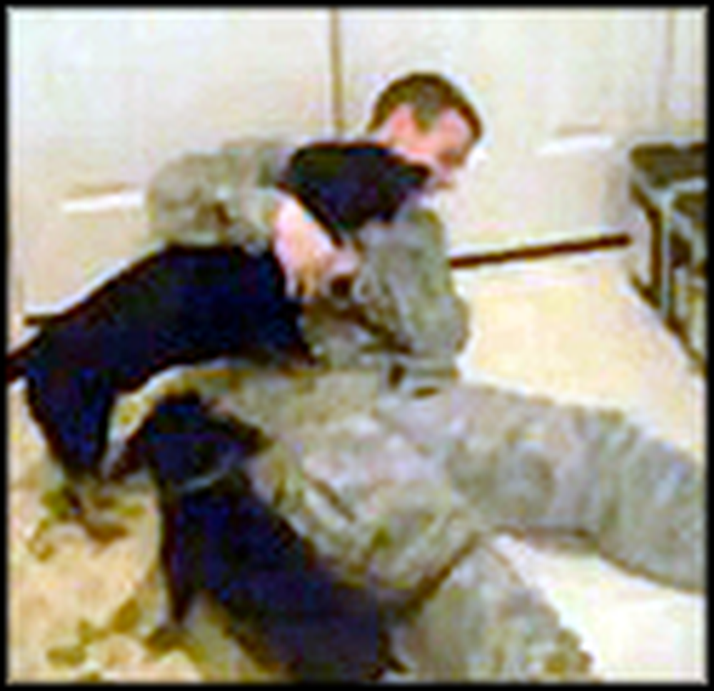 Two Happy Dogs Welcome their Daddy Home From Iraq