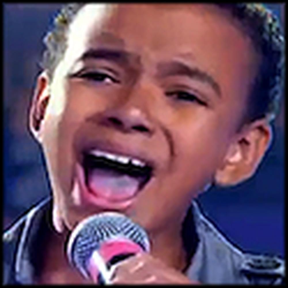 9 Year Old Brazilian Boy Sings Hallelujah - Simply Beautiful