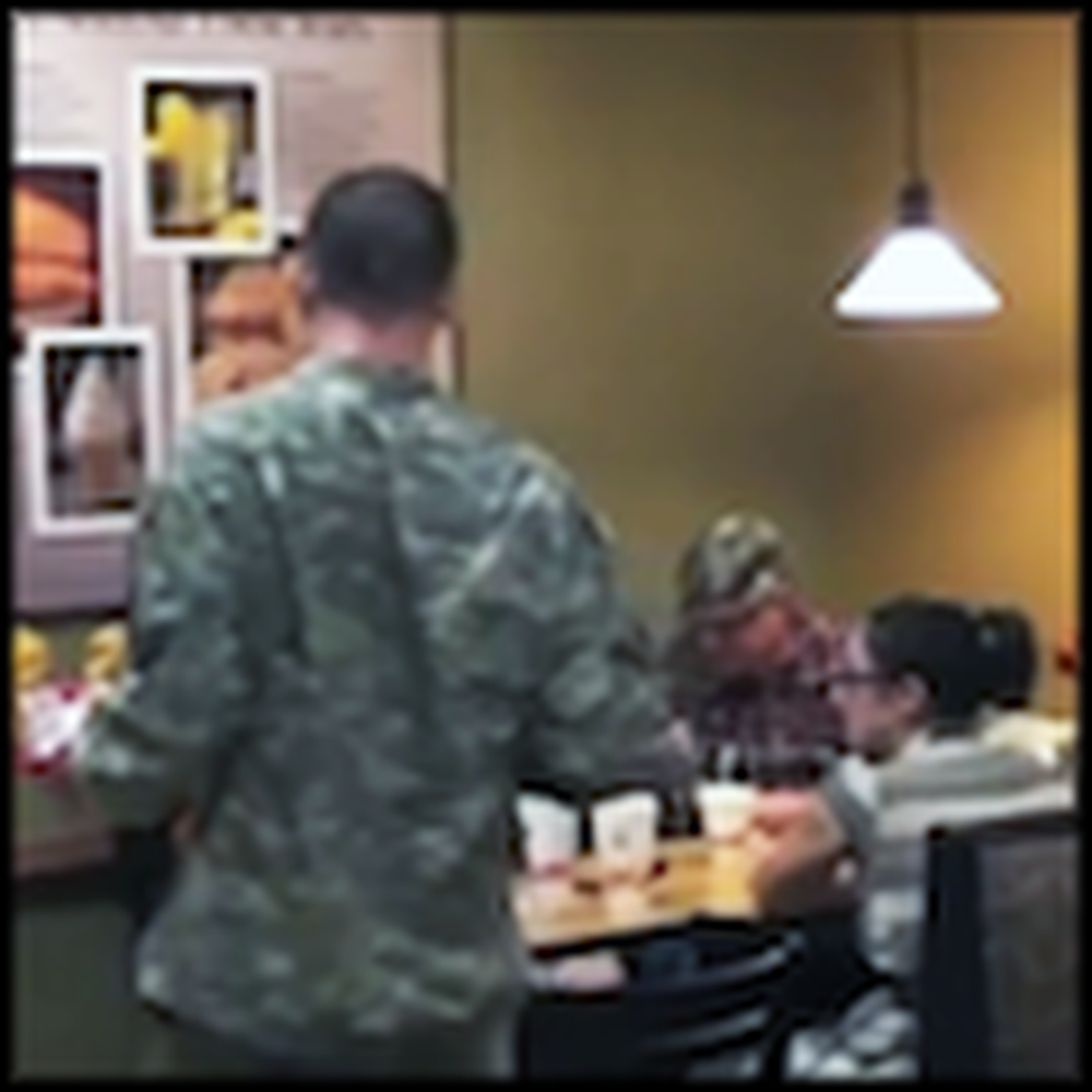 Wife Gets a Heartwarming Surprise - her Soldier Husband Returning Home