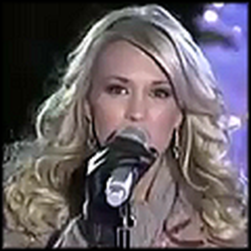 Carrie Underwood Sings Do You Hear What I Hear