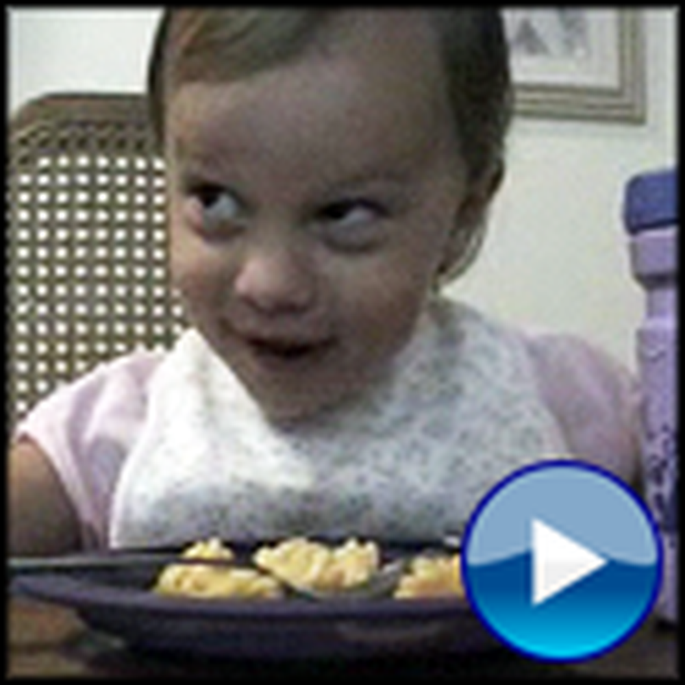 Cute Little Girl is Thankful for Mac and Cheese Among Other Things