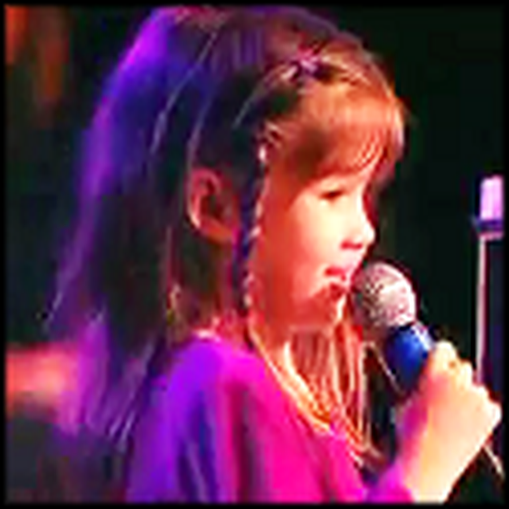 I Can See Clearly Now - Live Performance by 6 Year Old Kaitlyn Maher