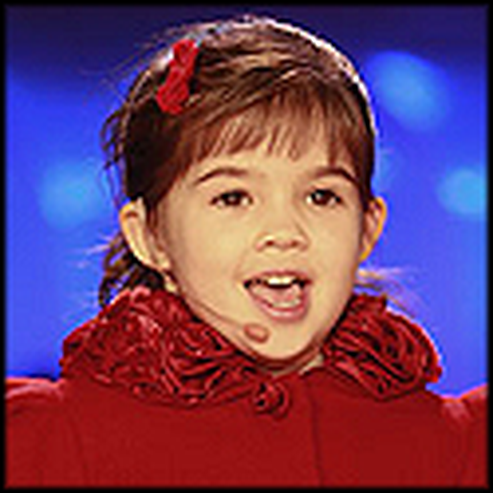 Sleep Well Little Children - Kaitlyn Maher's Adorable Christmas Performance