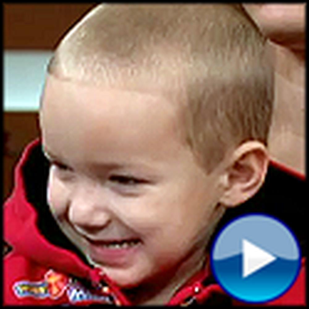 Adorable 3 Year Old Boy Calls 911 and Saves his Grandma