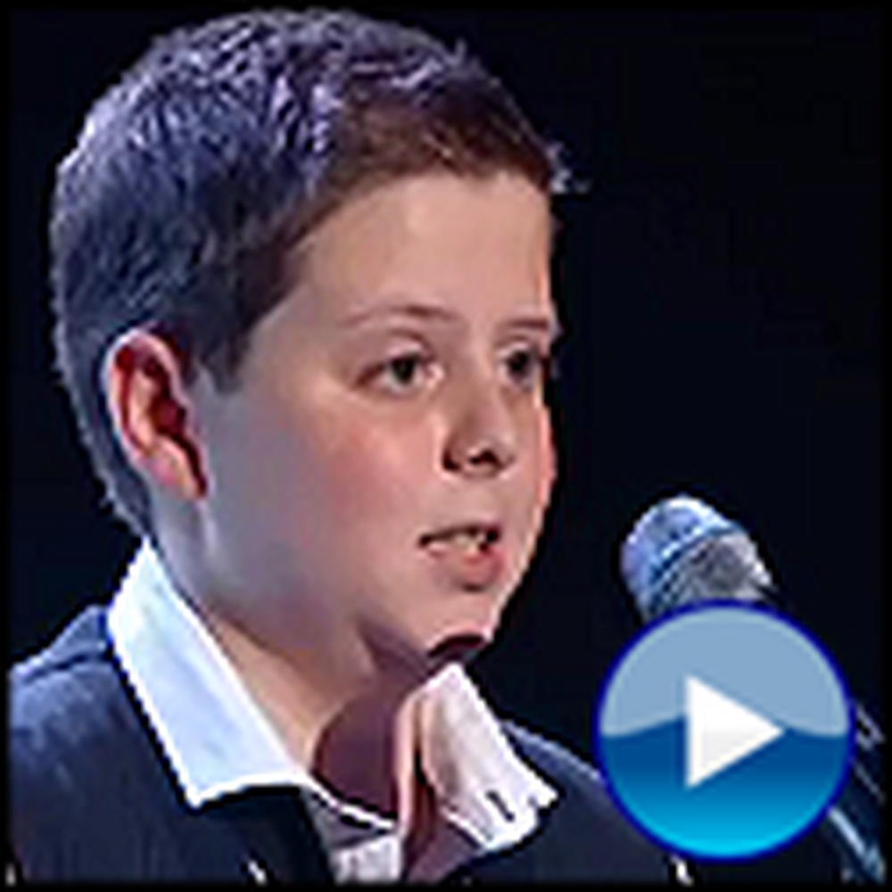 Boy with an Angelic Voice Sings You Raise Me Up - Wow