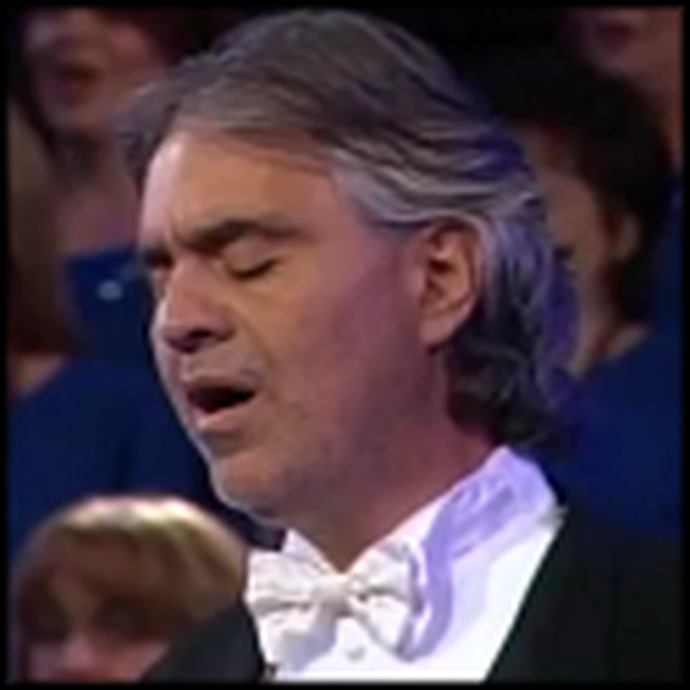Andrea Bocelli's Beautiful Version of The Lord's Prayer