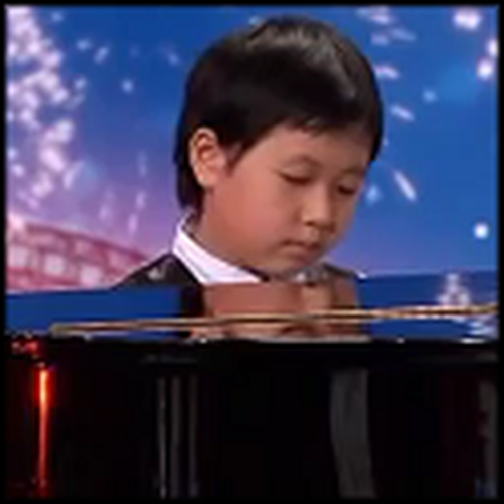 7 Year Old Piano Prodigy Stuns Judges and the Audience