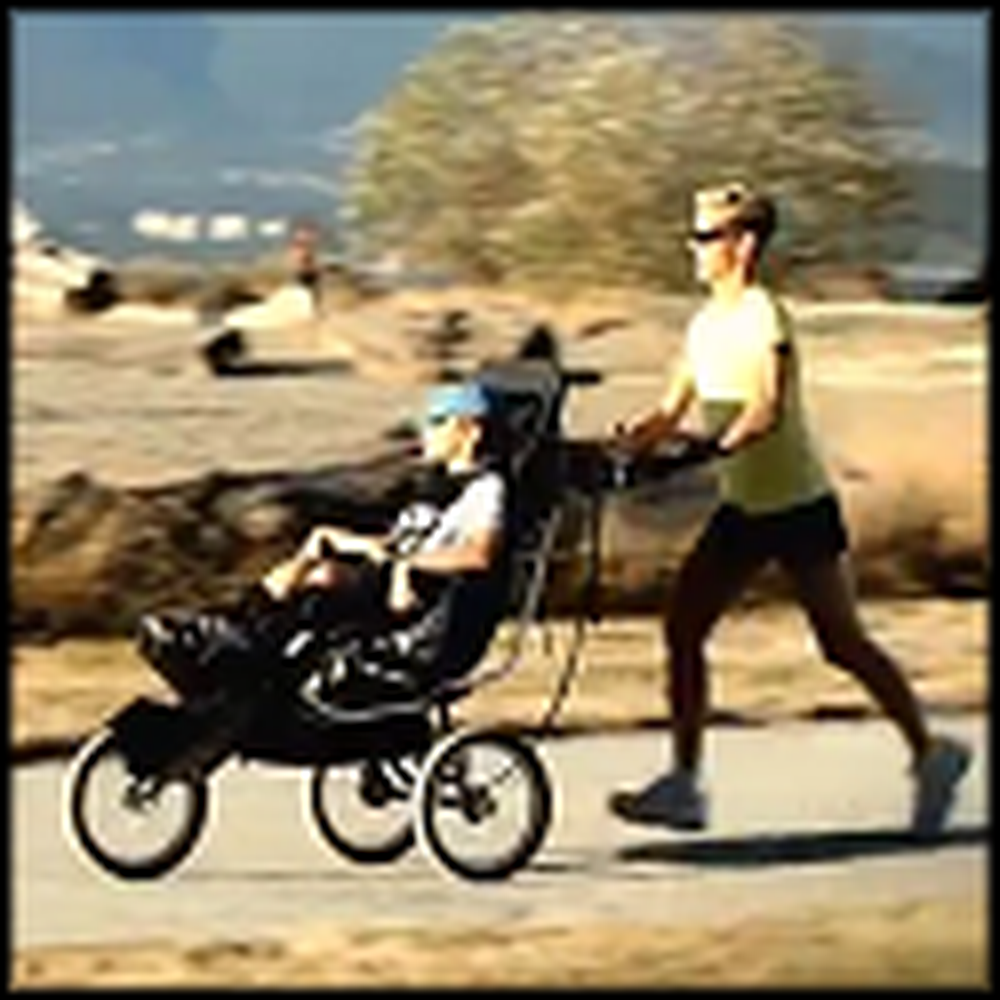 Inspiring Christian Mom Runs a Marathon with her Disabled Son