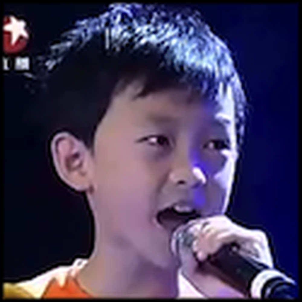 Two Boys in China Floor the Audience with a Great Song