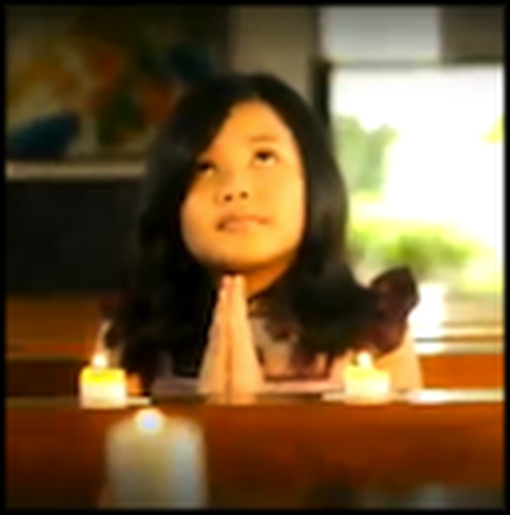 8 Year Old Girl's Version of Amazing Grace is Awesome - Wow
