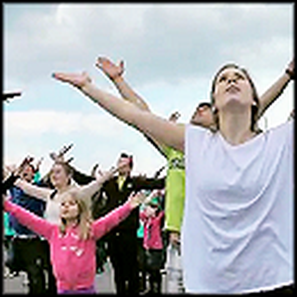 Rise Up - Awesome Flash Mob for Jesus in Switzerland