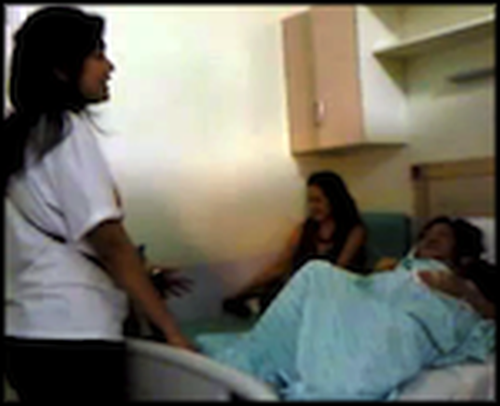 Girl Sings a Beautiful Song to her Mother on her Death Bed