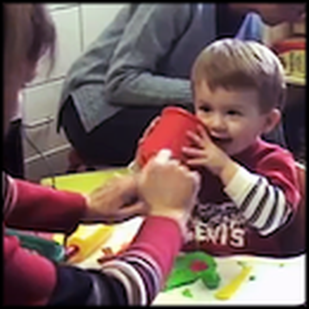 The Emotional Moment an 18 Month Old Boy Hears for the First Time