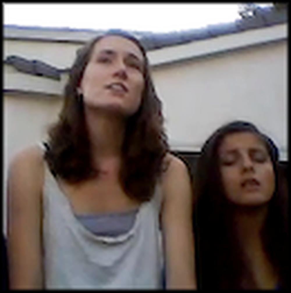 High School Girls Sing an Acapella Version of How Great Thou Art