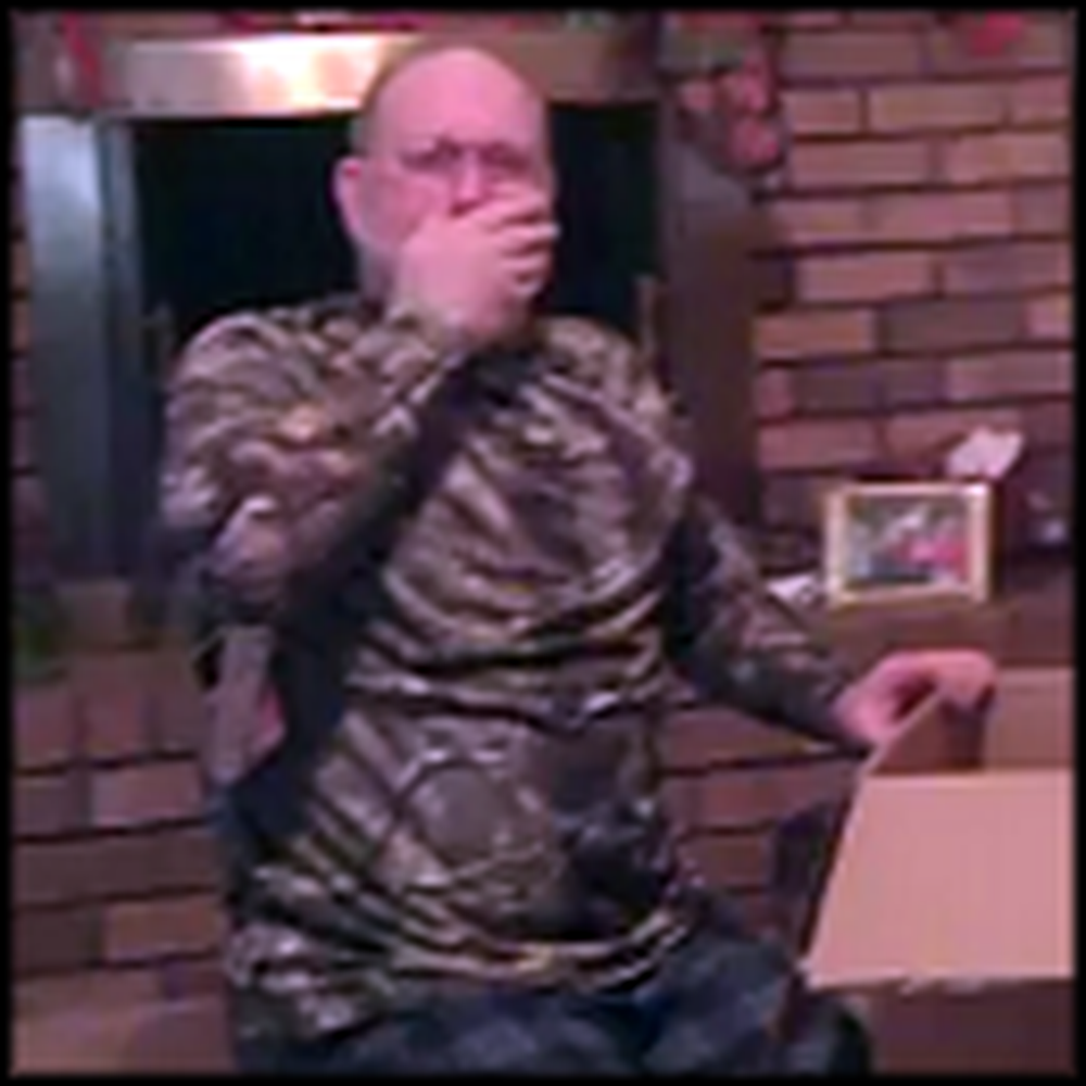 Dad's Heartfelt Reaction to Being a Grandpa is Touching