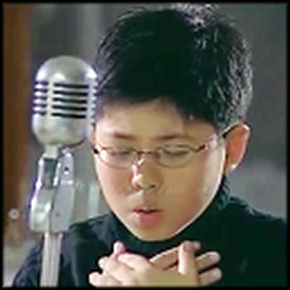 Humble 9 Year Old With an Angelic Voice Sings You Raise Me Up