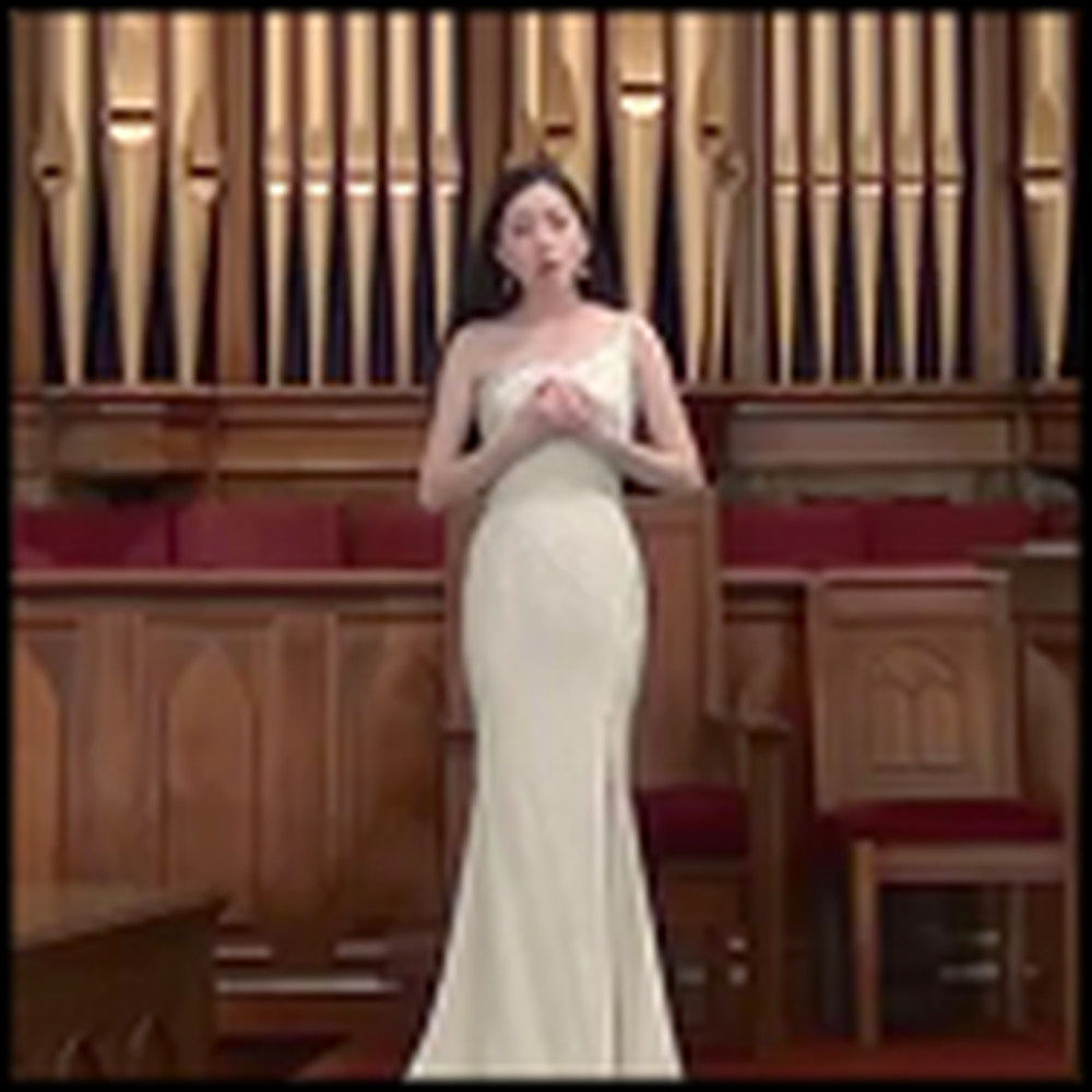 13 Year Old Girl Sings a Soul Stirring Version of Ave Maria