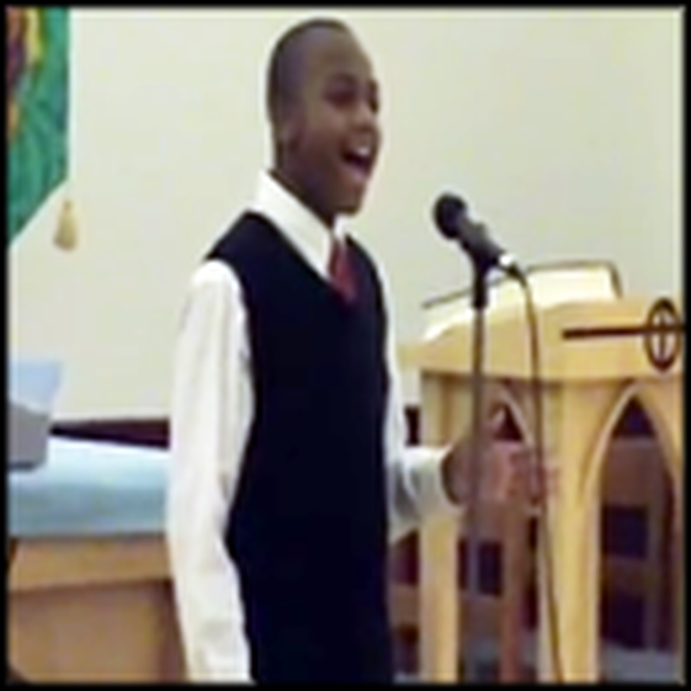 13 Year Old Sings a Powerful Version of His Eye is on the Sparrow