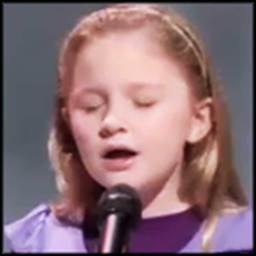 7 Year Old Girl Has a Downright Unbelievable Voice - Wow