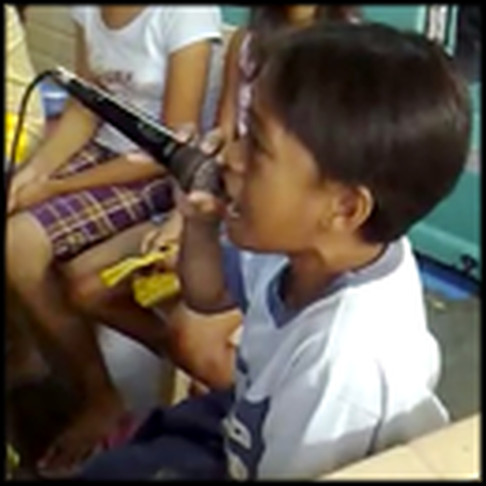 A Little Boy in the Philippines Has an Unbelievable Voice