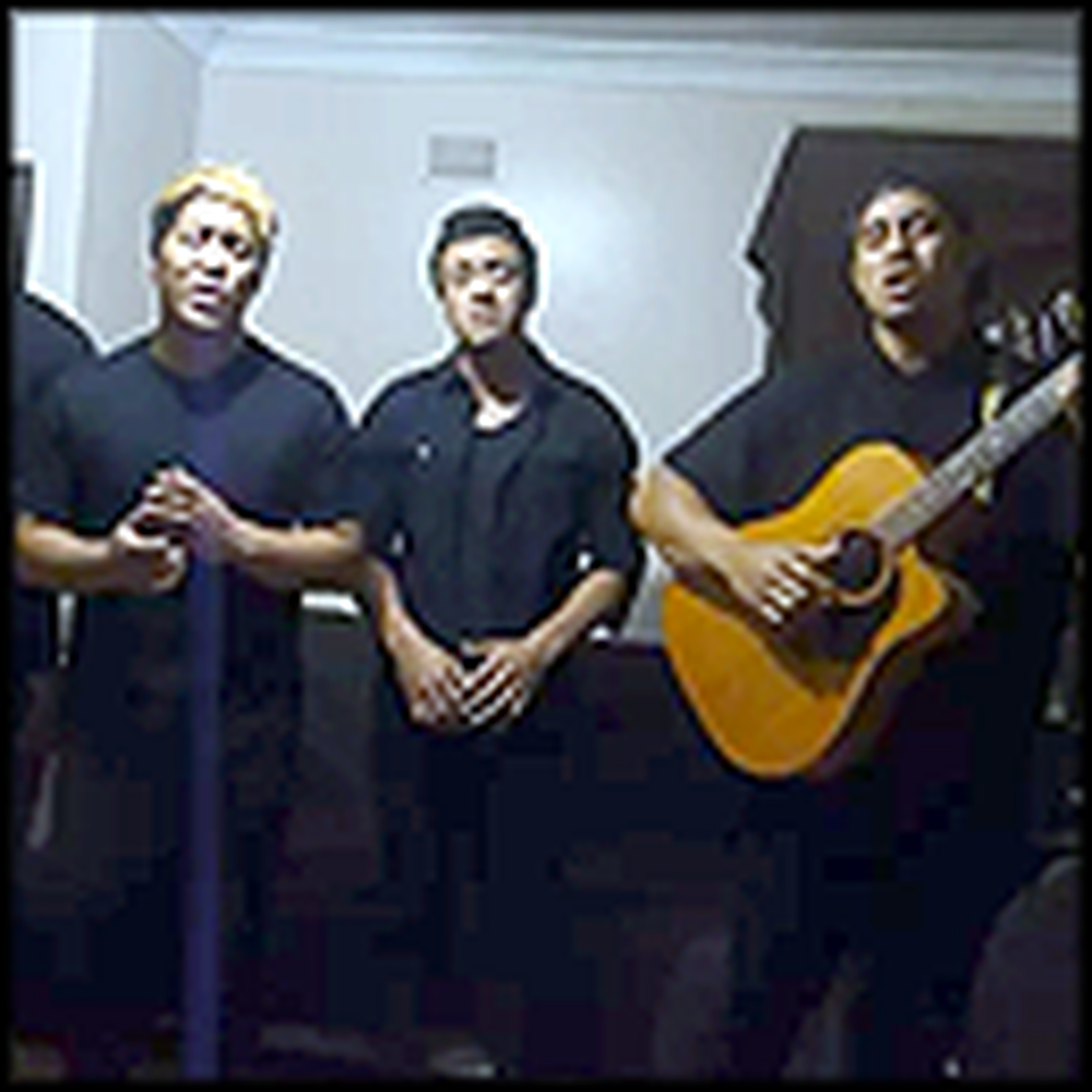 Four Guys Sing the Most Beautiful Cover of Angel