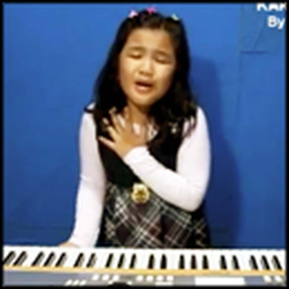 Girl's Rendition of a Popular Song Will Bring Tears To Your Eyes