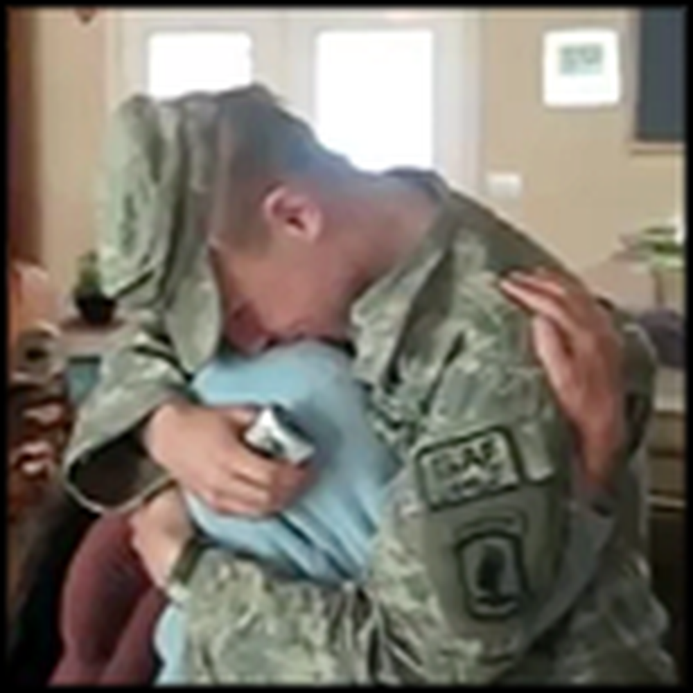 Soldier Surprises his Brother...Then his Mom - with Must See Reactions