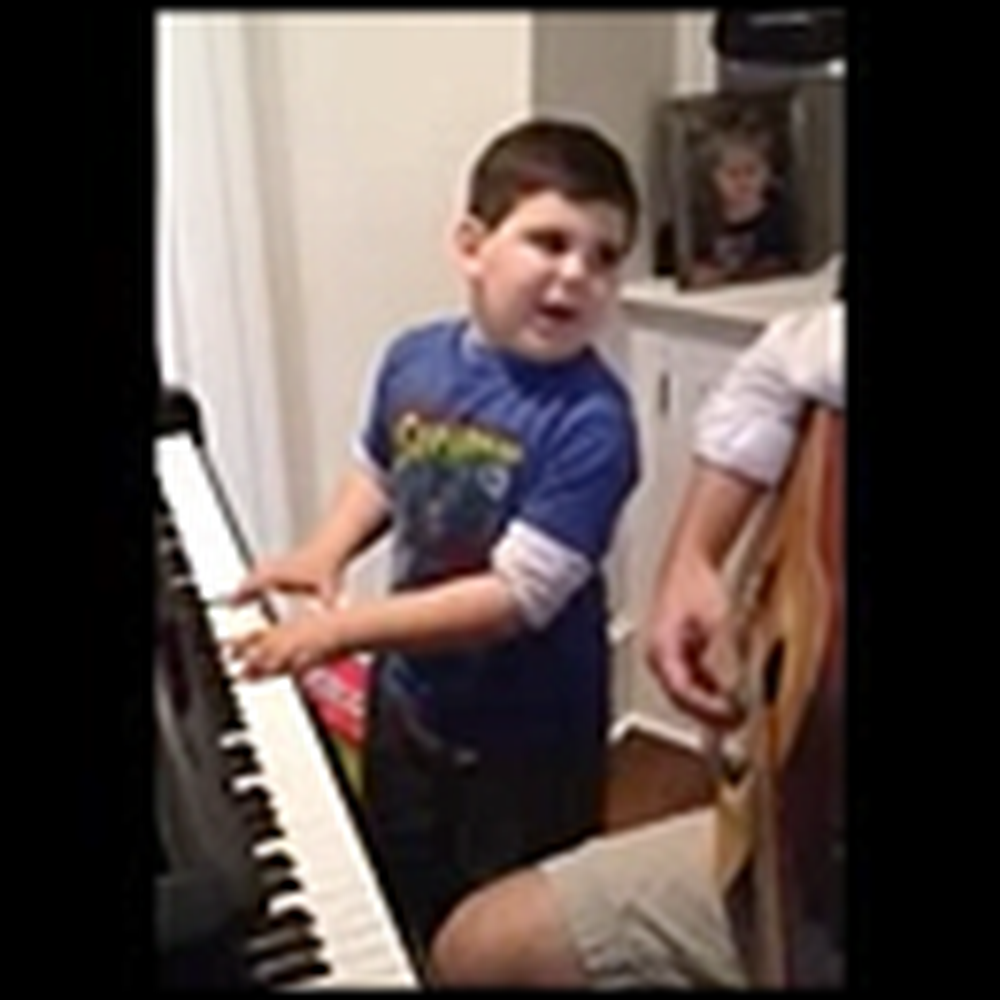 Mom Discovers her Young Autistic Boy is Awesome at Piano