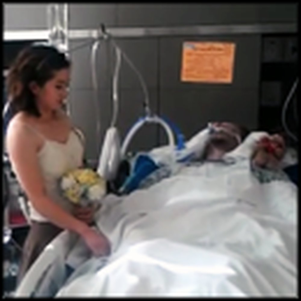 Girl Marries her Husband on his Death Bed