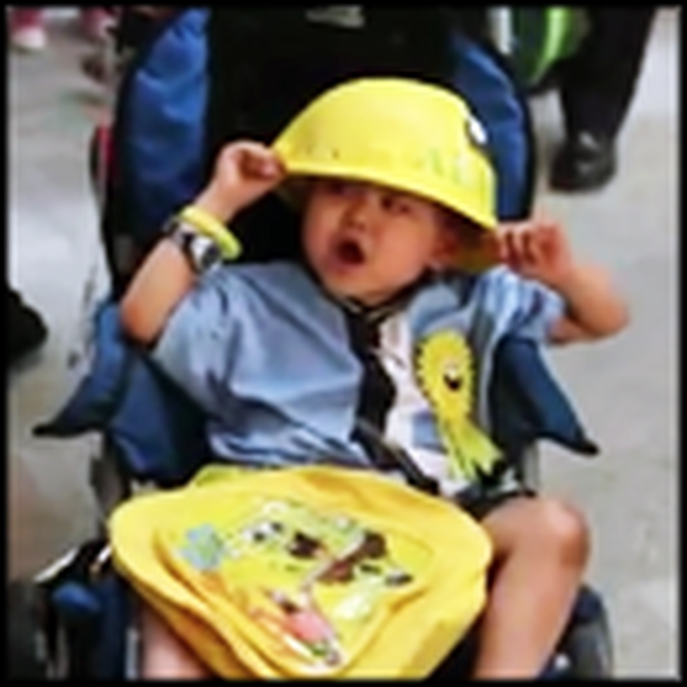 A 4 Year Old Boy With Cancer's Unusual Wish Comes True