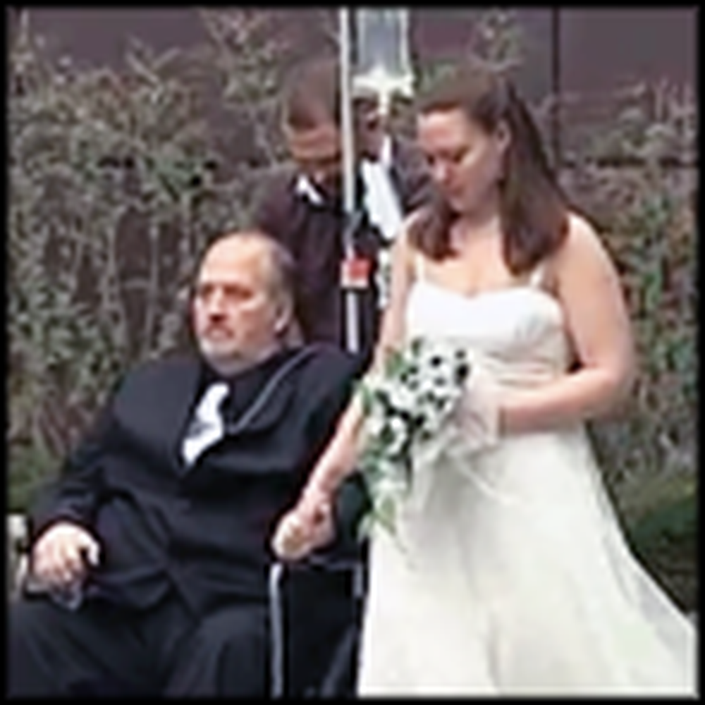 Dying Man's Wish is Granted at His Daughter's Wedding