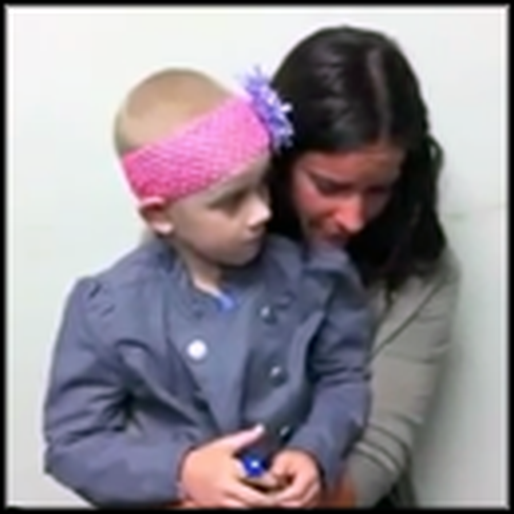Kari Jobe Sings to a Little Girl Battling Cancer - a Tearjerking Video