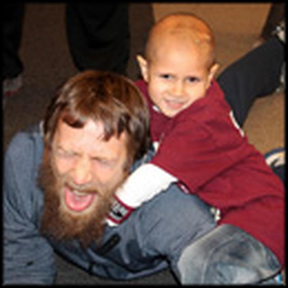 Pro Wrestler Makes a Little Cancer Patient's Dreams Come True