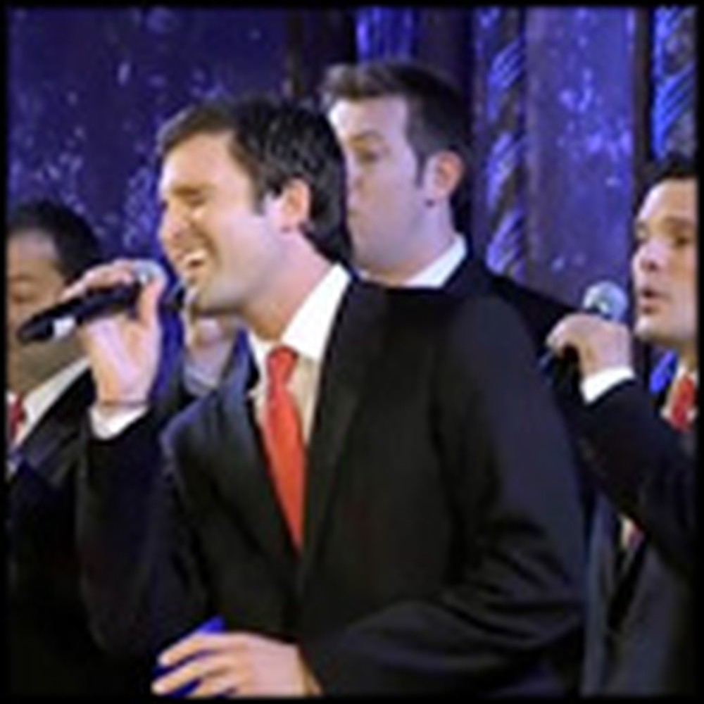 Talented A Capella Group Beautifully Sings Auld Lang Syne