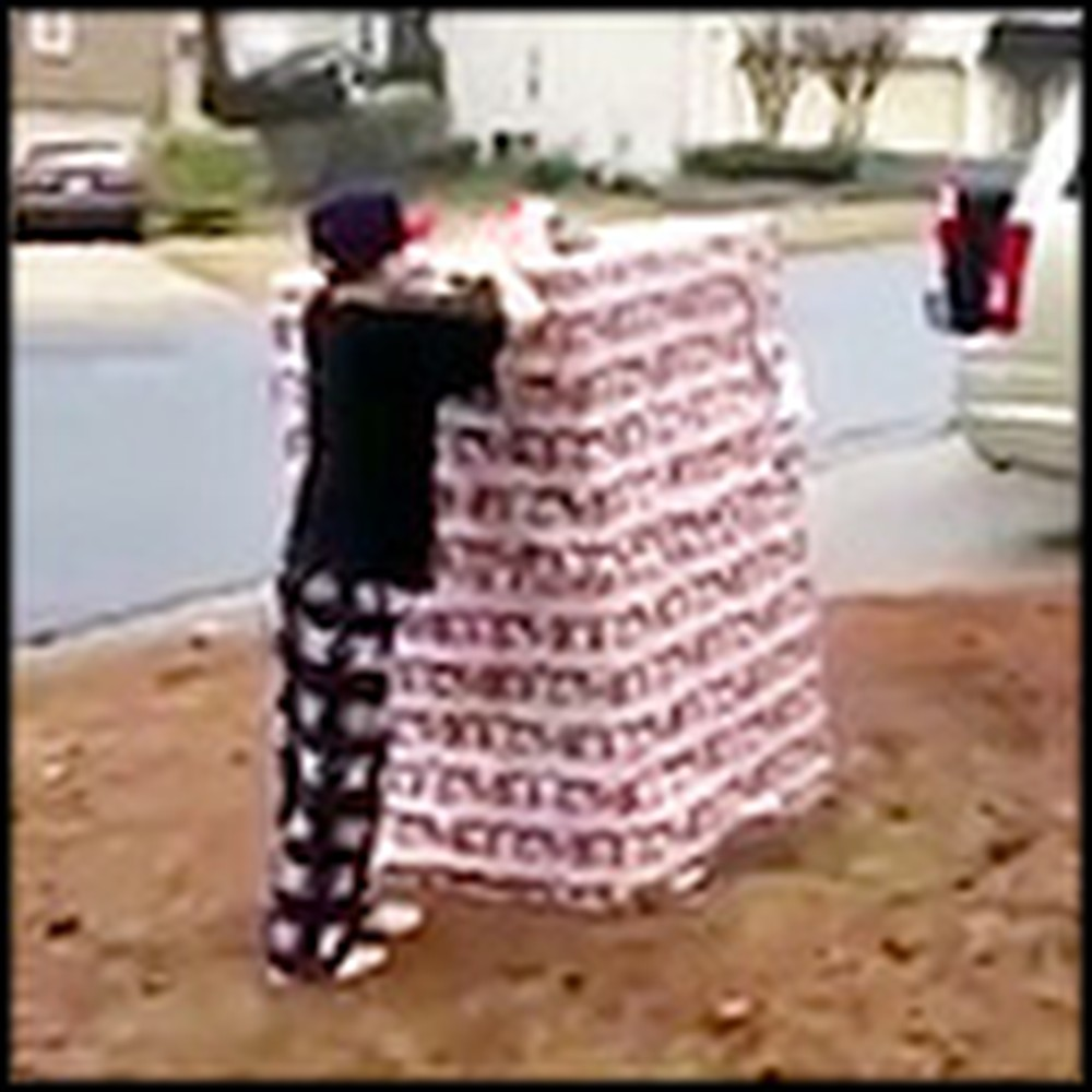 Blessed Family Receives The Best Christmas Surprise