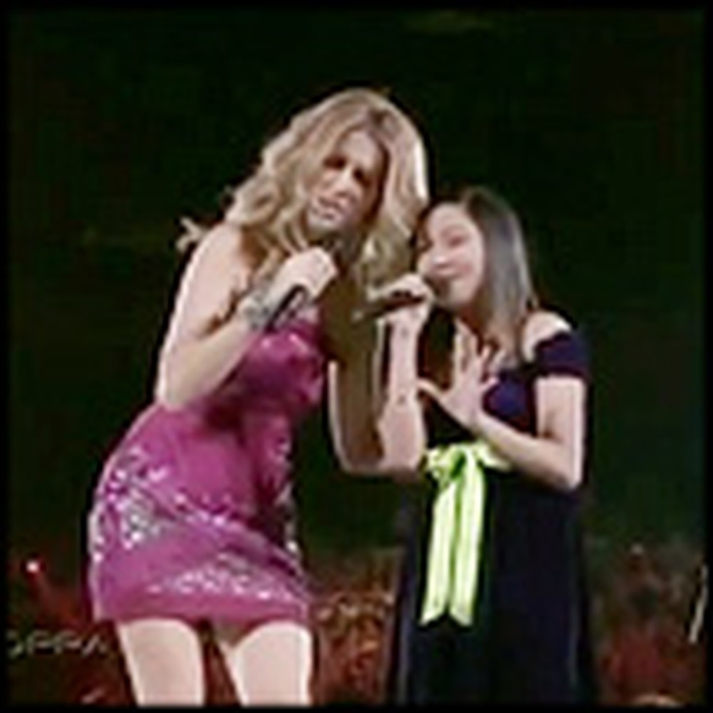 Charice and Celine Dion Perform a Breahtaking Duet