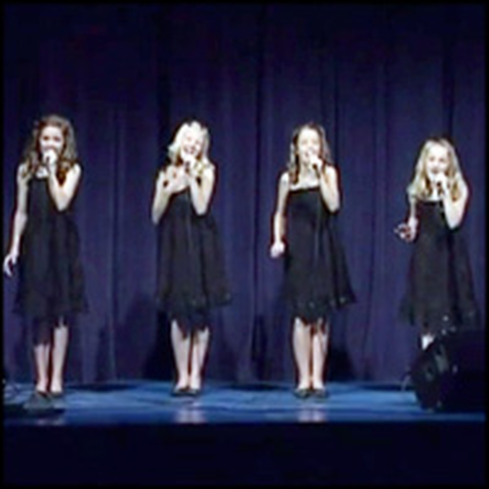 Talented Young Girls Sing a Stellar Version of Amazing Grace