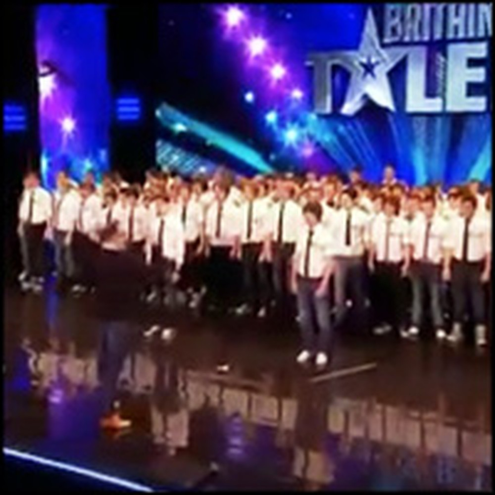 Angelic All-Boy Choir Take Judges By Surprise with a Chilling Performance