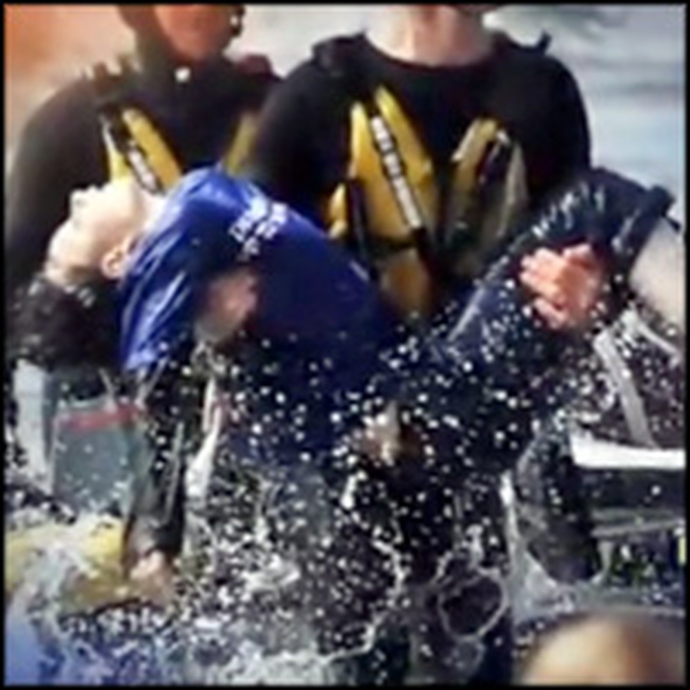 God Spared the Life of a Boy Stuck Underwater for 20 Minutes