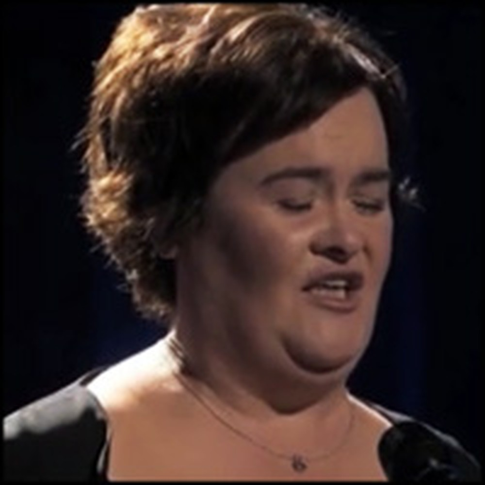 Susan Boyle's Stunningly Beautiful Performance of Wild Horses