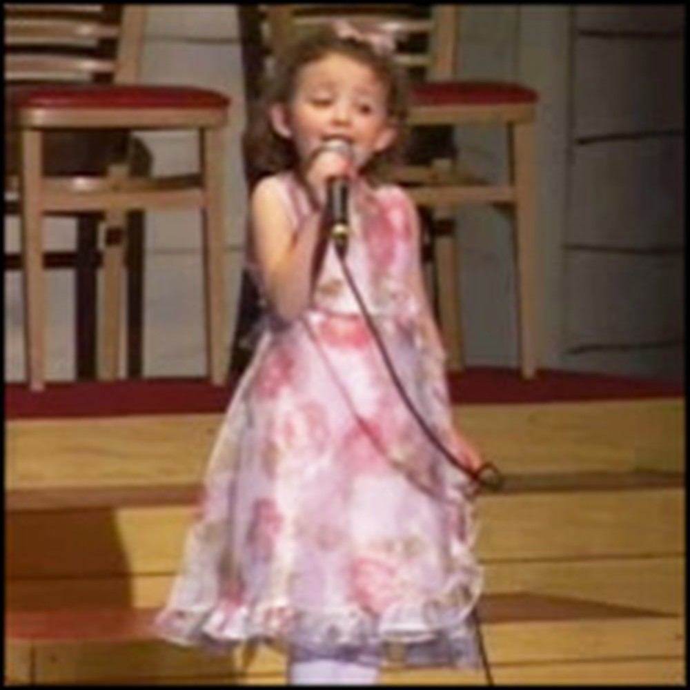 Cute 5 Year-Old Sings Come to Jesus in the Sweetest Way