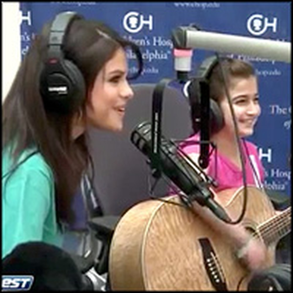 Selena Gomez Personally Makes a Sick Little Girl's Dreams Come True