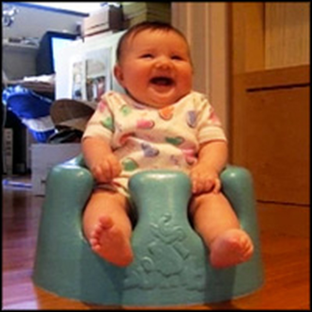 Sweet Baby Gives the Biggest Belly Laugh