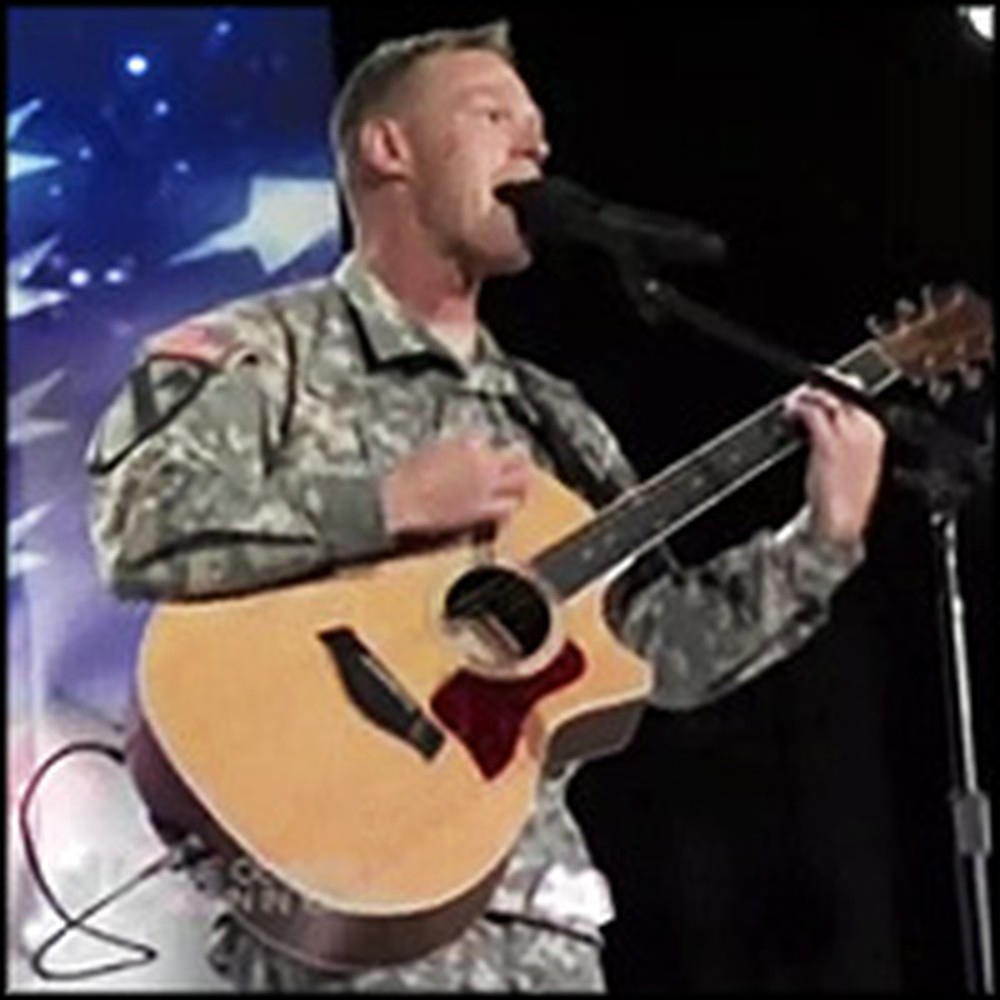 U.S. Soldier Gives the Performance of a Lifetime After Coming Home